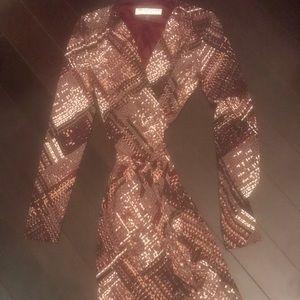 Trina Turk wrap dress size 2